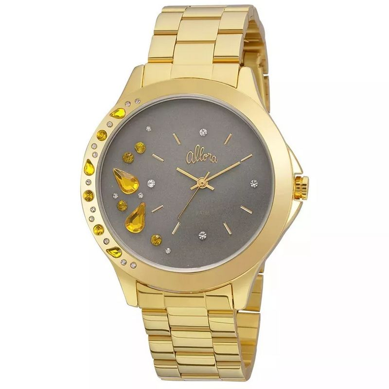 Relógio Allora Feminino Dourado Analógico Metal AL2036FGM/4C