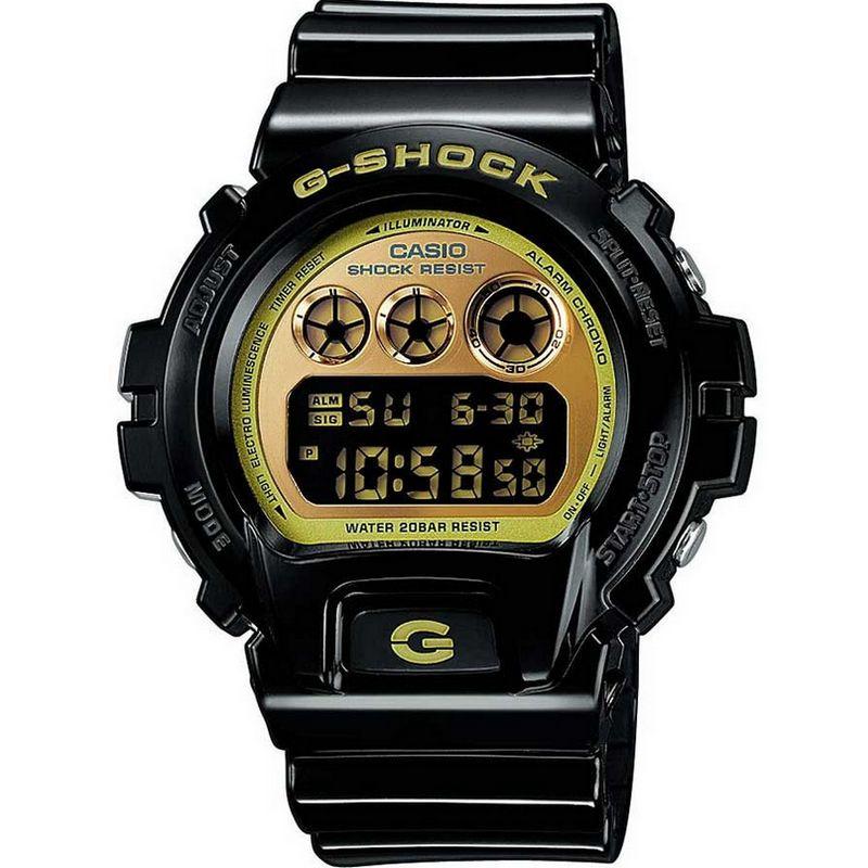 00cd670d5668 Relógio Casio Masculino G-Shock Digital Resina Preto Cronógrafo  DW-6900CB-1DS -