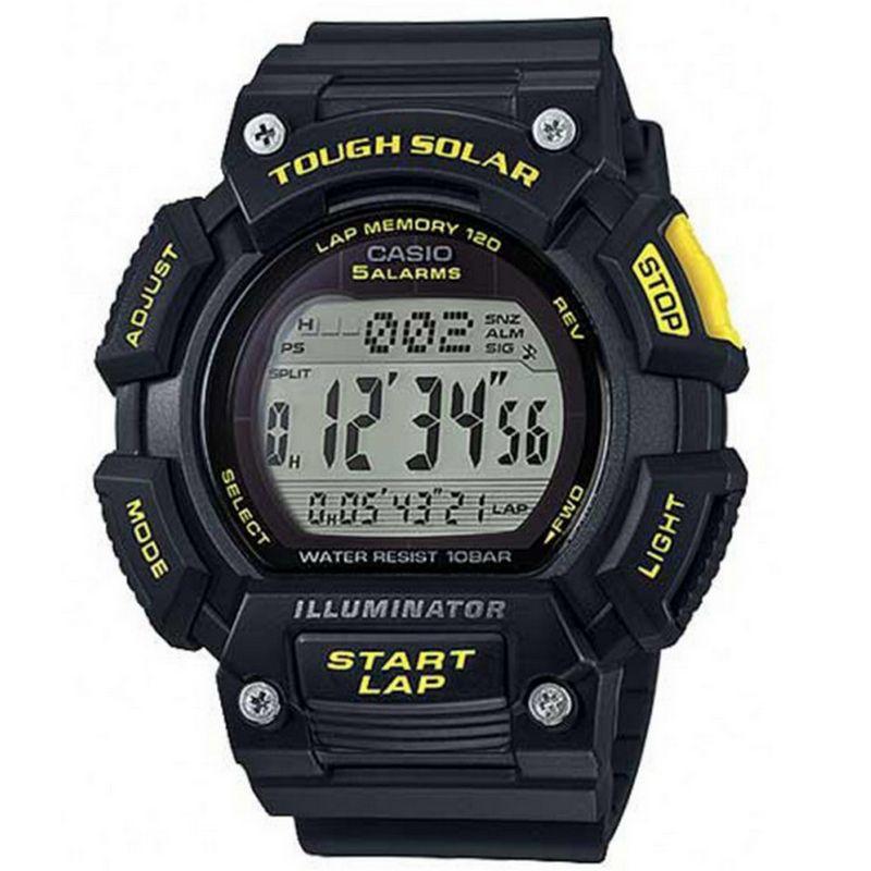 Relógio Casio Masculino Tough Solar Resina Digital Cronógrafo STL-S110H-1CDF