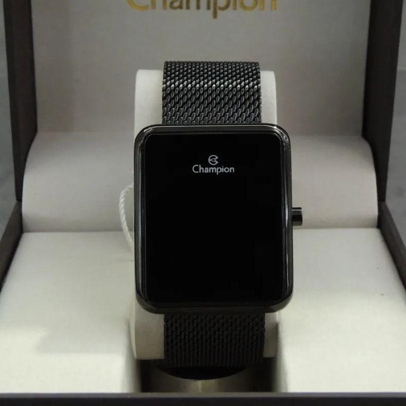 Relógio Champion Feminino Led Marrom CH40080D