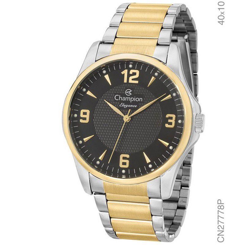 Relógio Champion Feminino Prata Analógico Elegance CN27778P
