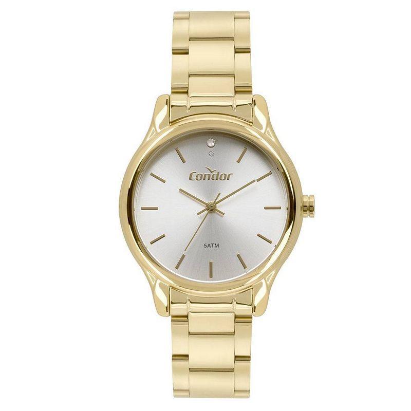 Relógio Condor Feminino Dourado Aço Inox Analógico CO2035FBY/K4B