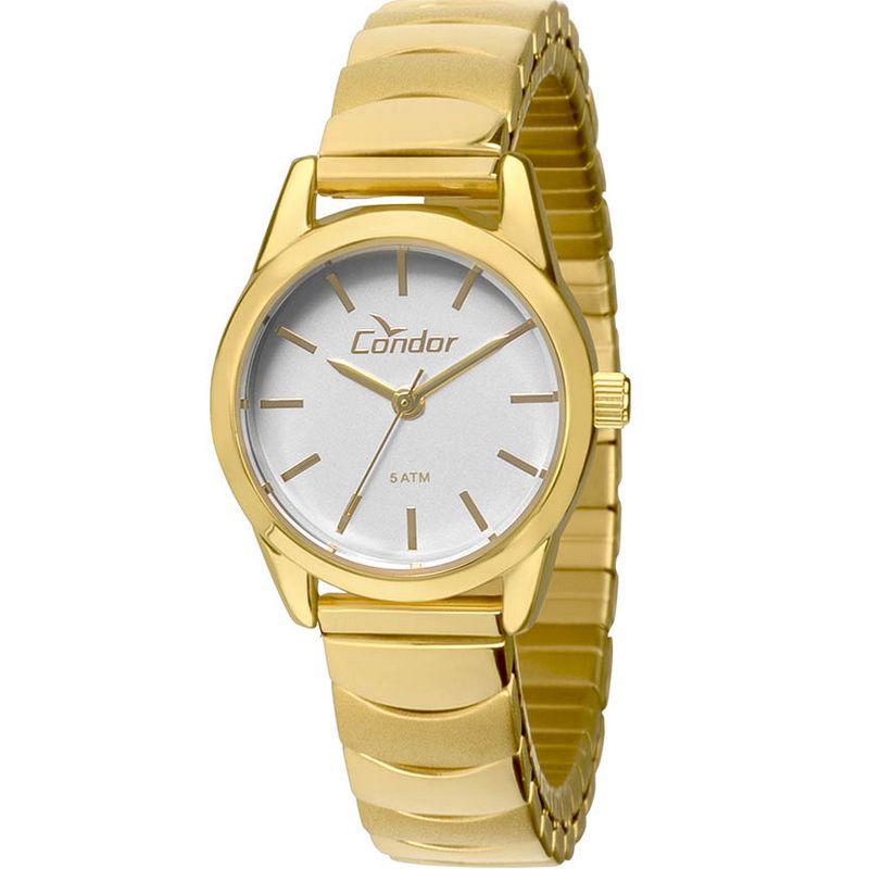 Relógio Condor Feminino Dourado Aço Inox Analógico CO2035KMY/4K