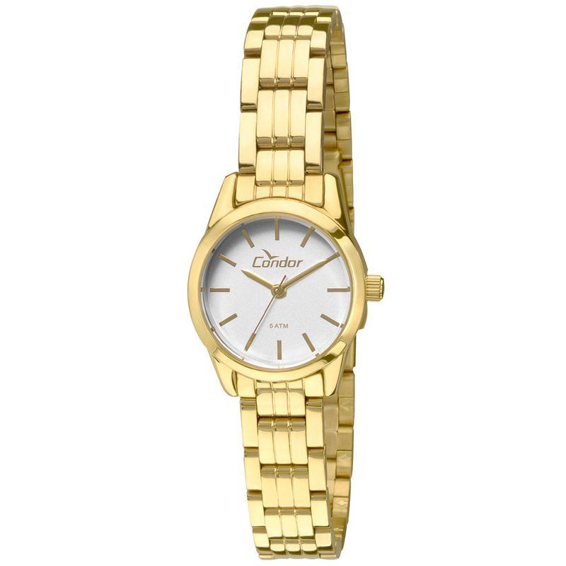 Relógio Condor Feminino Dourado Aço Inox Analógico CO2035KNO/4C