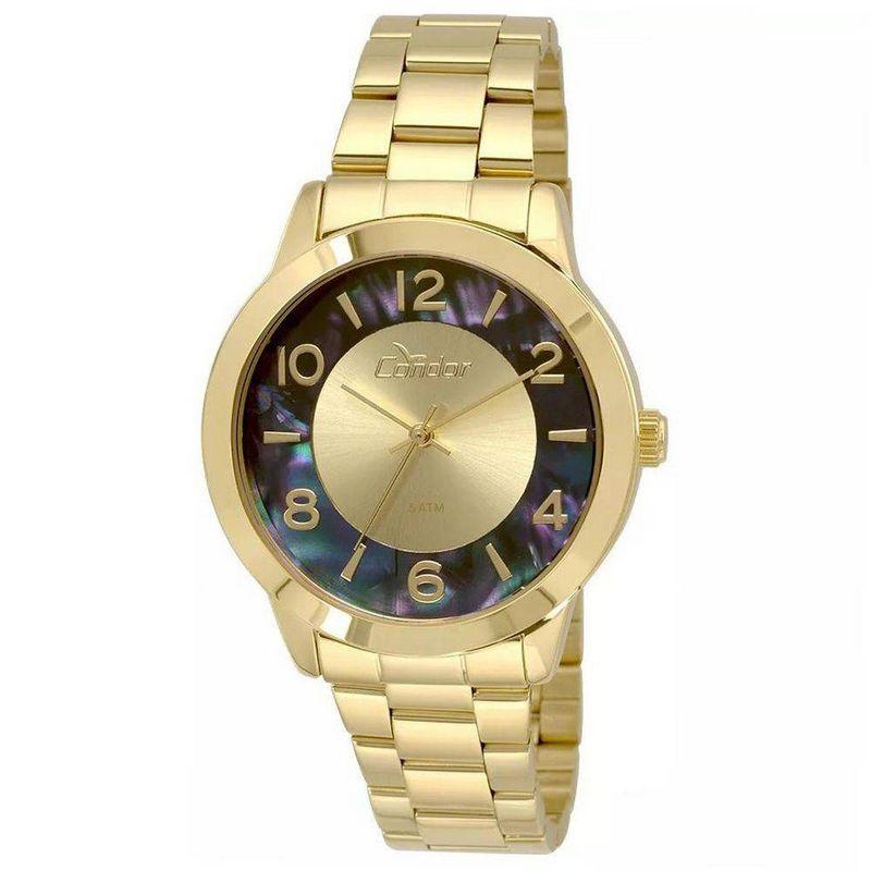 Relógio Condor Feminino Dourado Aço Inox Analógico CO2035KRJ/4A