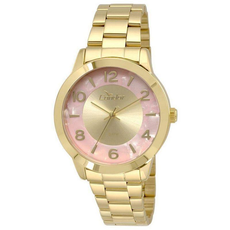 Relógio Condor Feminino Dourado Aço Inox Analógico CO2035KRJ/4T