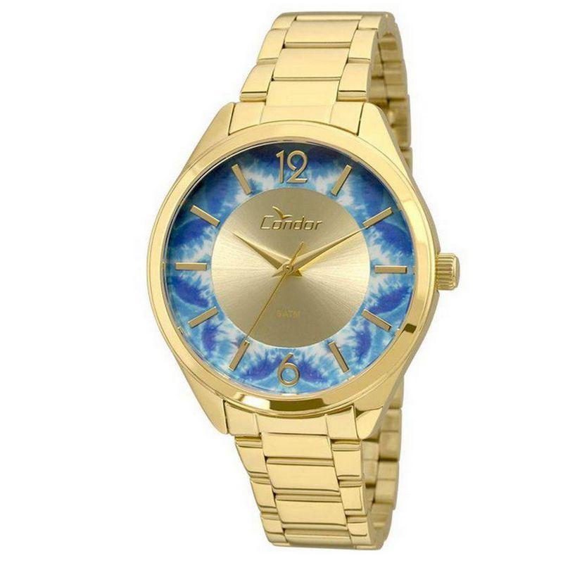 Relógio Condor Feminino Dourado Aço Inox Analógico CO2035KRR/4A