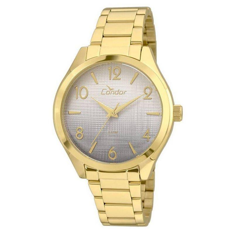 Relógio Condor Feminino Dourado Aço Inox Analógico CO2035KRS/4C