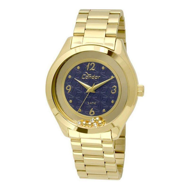 Relógio Condor Feminino Dourado Aço Inox Analógico CO2036KSS/4A