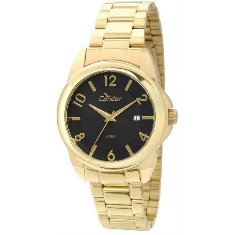 Relógio Condor Feminino Dourado Aço Inox Analógico CO2115SX/4P