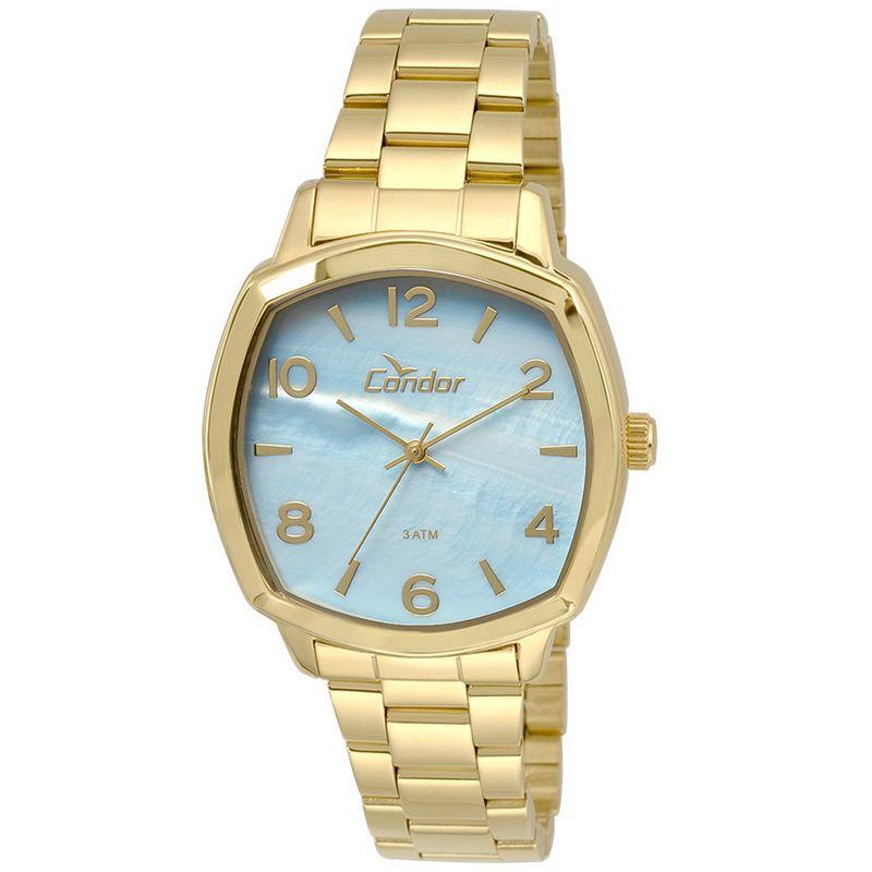 Relógio Condor Feminino Dourado Analógico Aço CO2035KRK/4A