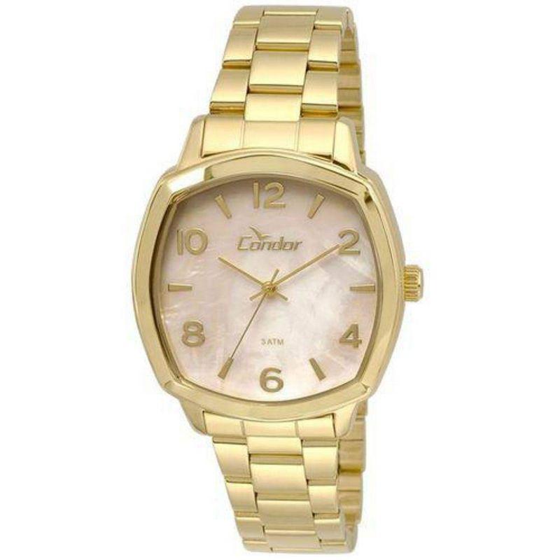 Relógio Condor Feminino Dourado Analógico Aço CO2035KRK/4X