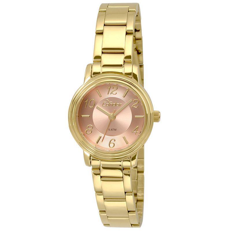 Relógio Condor Feminino Dourado Analógico Aço CO2035KRM/4T