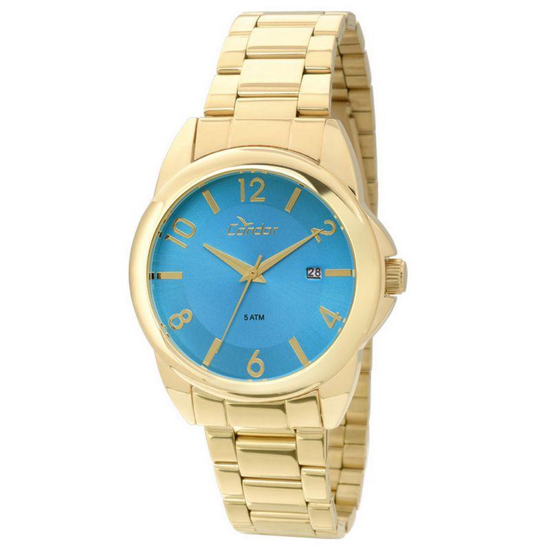 Relógio Condor Feminino Dourado Analógico Aço CO2115SX/4A
