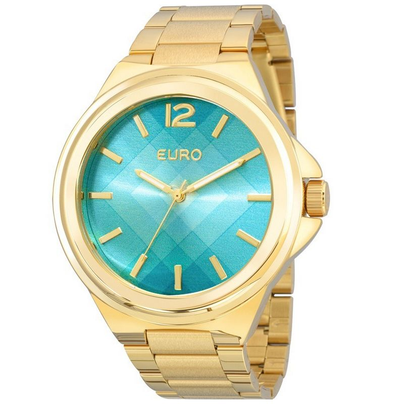 Relógio Euro Feminino Dourado Aço Analógico Fashion EU2035YDS/4V