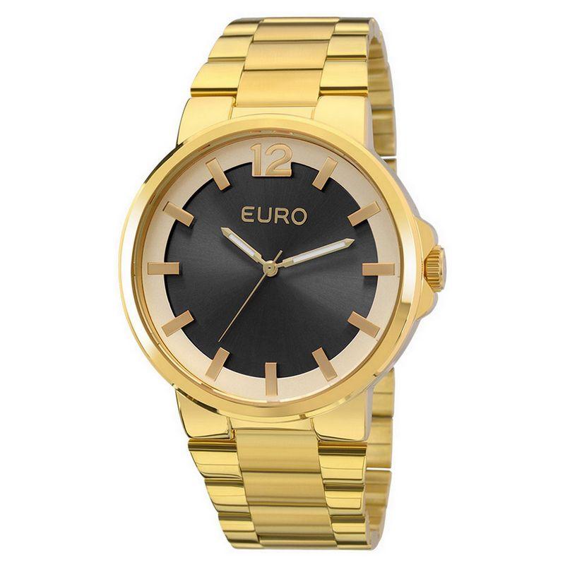 Relógio Euro Feminino Dourado Aço Analógico Fashion EU2035YEE/4C