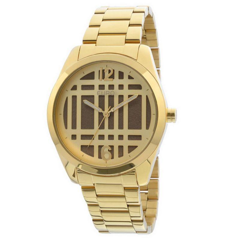 Relógio Euro Feminino Dourado Aço Analógico Fashion EU2039IH/4X