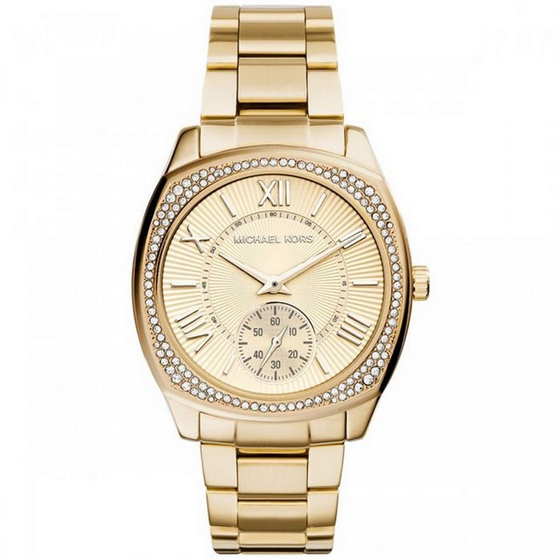 Relógio Michael Kors Feminino Dourado Analógico Ladies Bryn MK6134/4DN