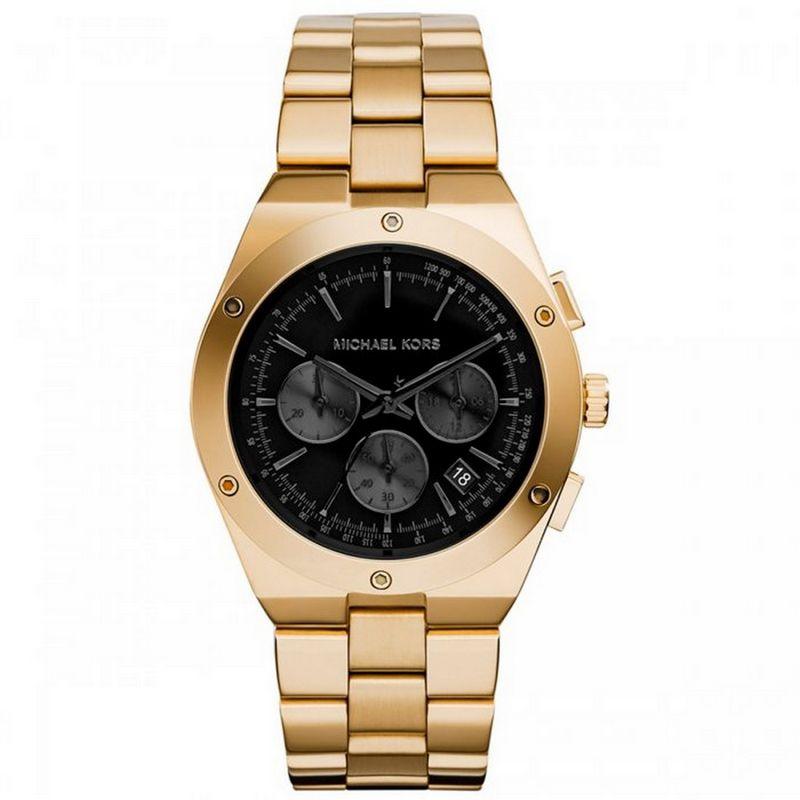 Relógio Michael Kors Feminino Dourado Cronógrafo Analógico MK6078/4PN