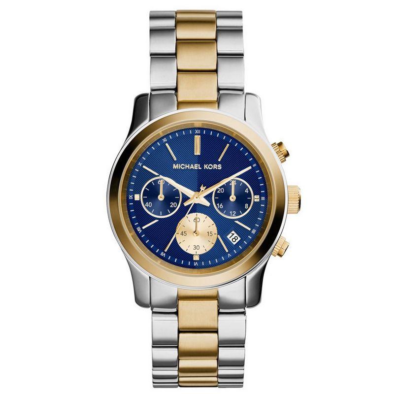 Relógio Michael Kors Feminino Misto Cronógrafo Analógico MK6165/5AN