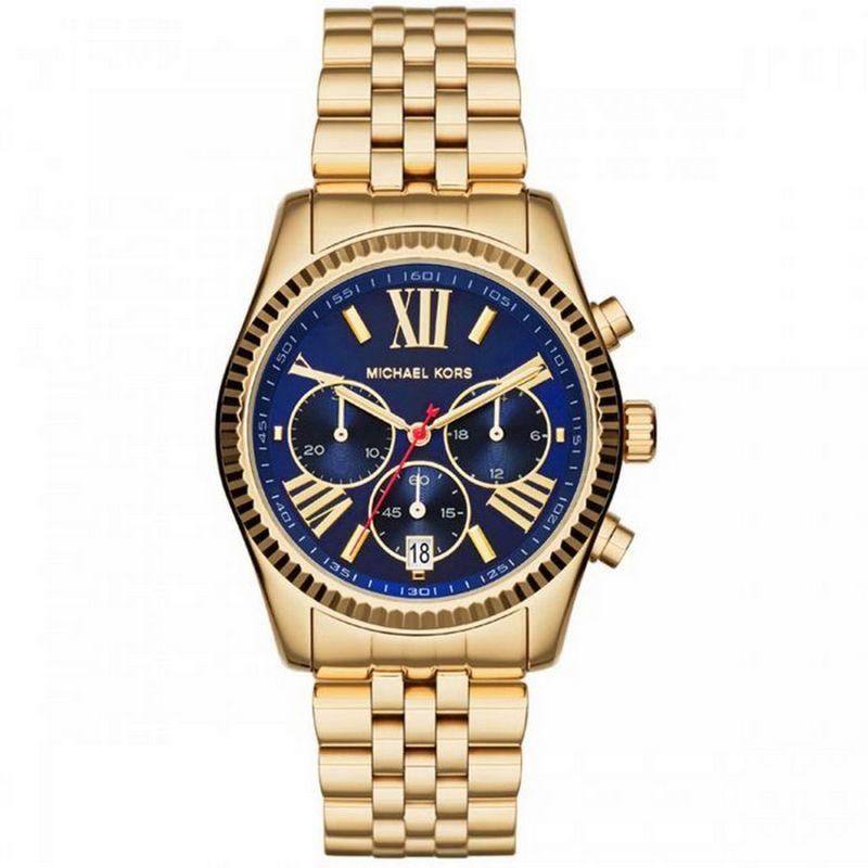 Relógio Michael Kors Feminino Dourado Cronógrafo Analógico MK6206/4AN