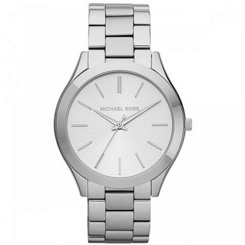 Relógio Michael Kors Feminino Prata Analógico OMK3178Z