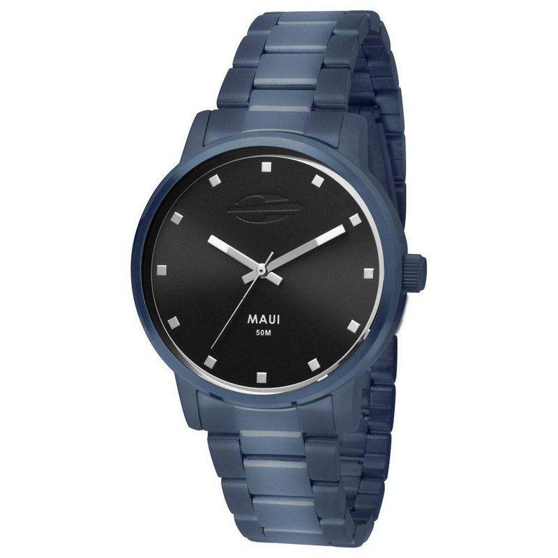 Relógio Mormaii Feminino Maui Azul Analógico MO2035FS/4P
