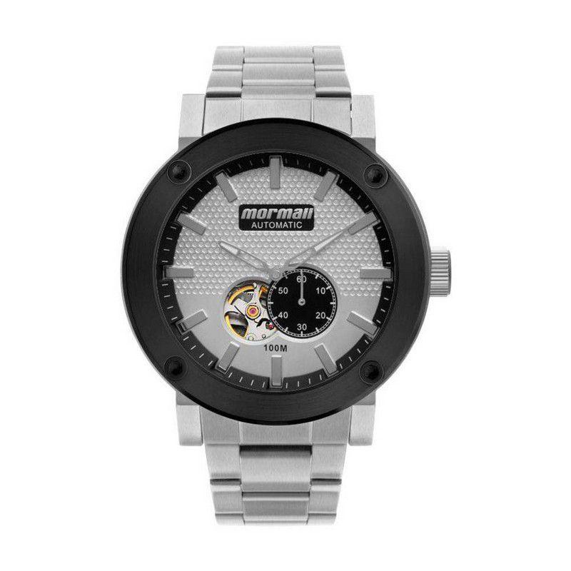 Relógio Mormaii Masculino Aço Inoxidável Analógico Automático Cronógrafo MO82S0AA/3K