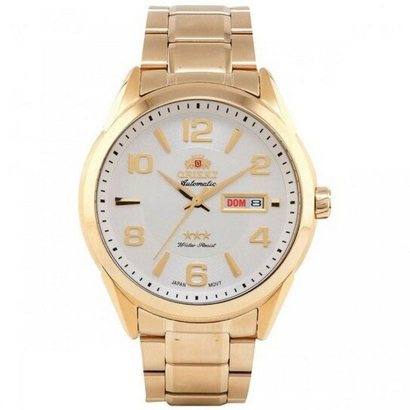 Relógio Orient Masculino Aço Inoxidável Calendário Automatic 469GP052 S2KX