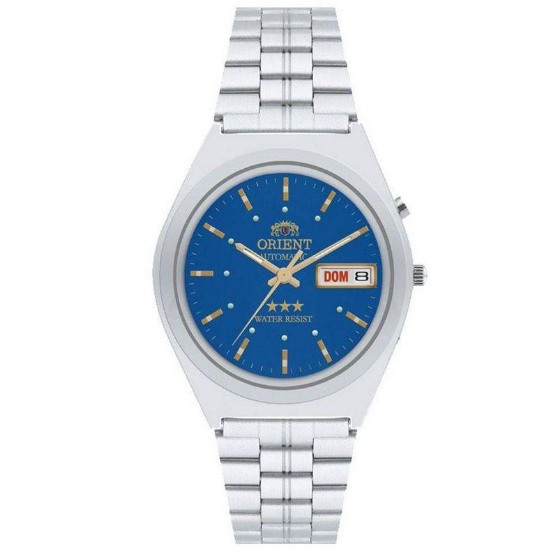 Relógio Orient Masculino Automático Prata Aço Inox Estrela 469WA1A A1SX