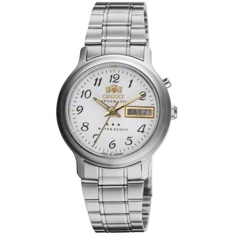 Relógio Orient Masculino Automático Prata Aço Inox Estrela 469WA1A B2SX