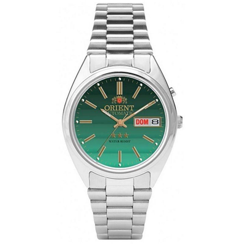 Relógio Orient Masculino Automático Prata Aço Inox Estrela 469WA3 E1SX