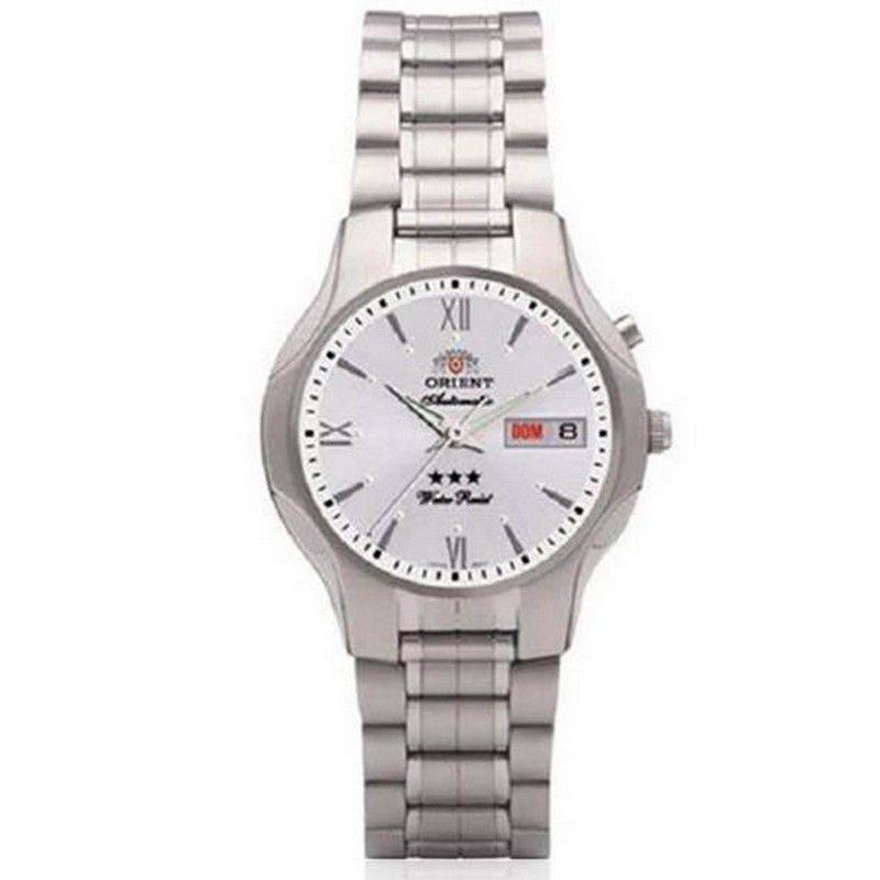 Relógio Orient Masculino Calendário Automático Aço Inoxidável 469SS001 S3SX