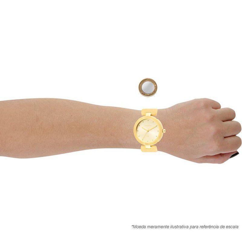 Relógio Technos Feminino Aço Inoxidável Dourado Analógico 2035LTE/4D