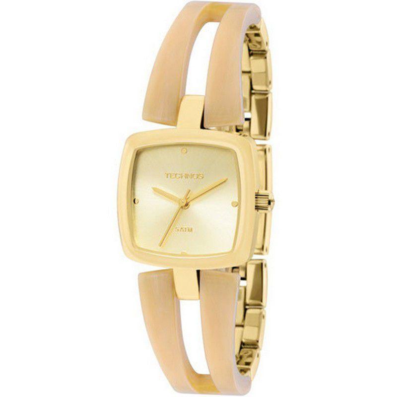Relógio Technos Feminino Aço Inoxidável Dourado Analógico 2035LVO/4X