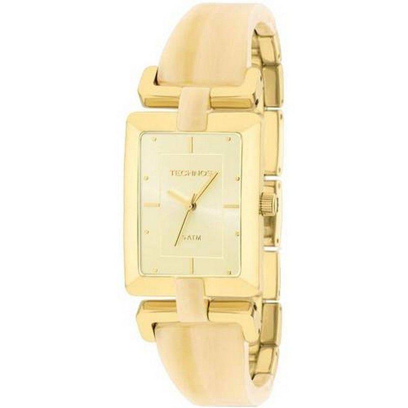 Relógio Technos Feminino Aço Inoxidável Dourado Analógico 2035LVQ/4X