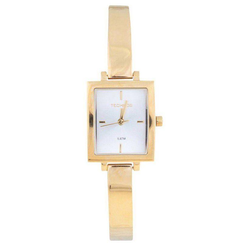 Relógio Technos Feminino Aço Inoxidável Dourado Analógico 2035LVV/4K