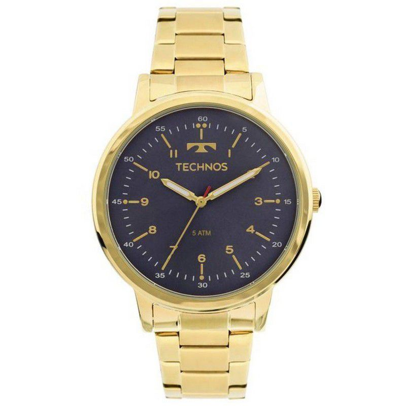Relógio Technos Feminino Aço Inoxidável Dourado Analógico 2035MFN/4A