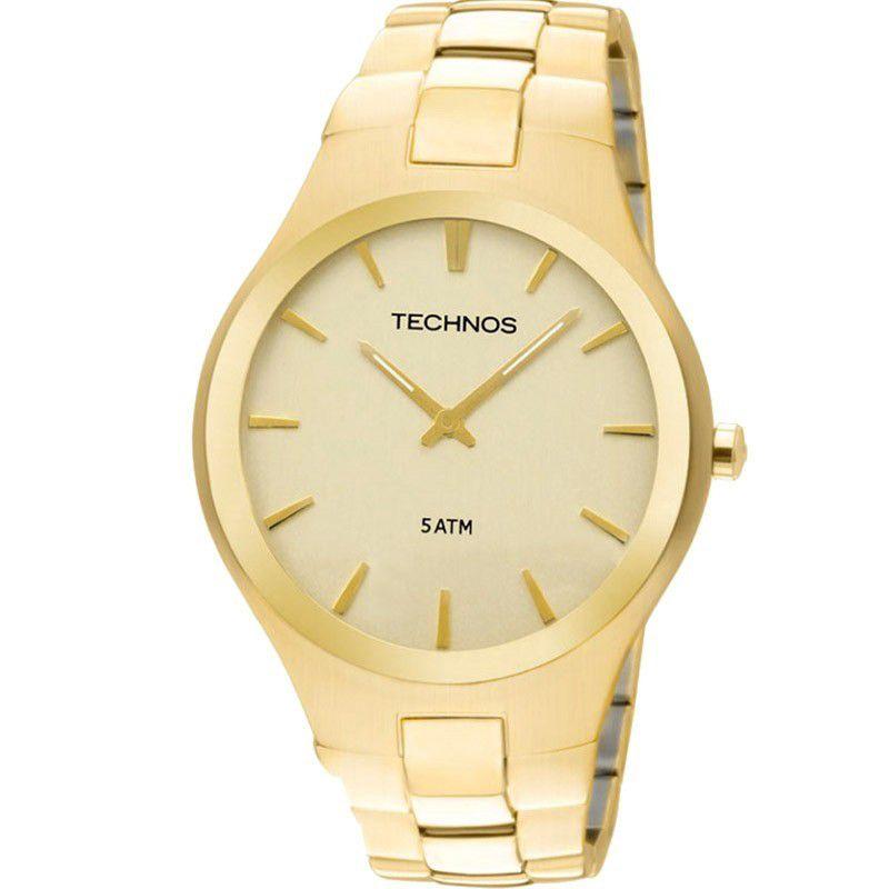 Relógio Technos Feminino Dourado Aço Inoxidável Analógico GL20GR/4X