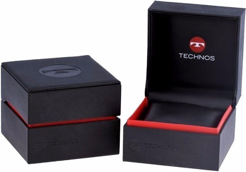 Relógio Technos Masculino Preto Silicone Performance Racer Analógico 2115MLF/8C