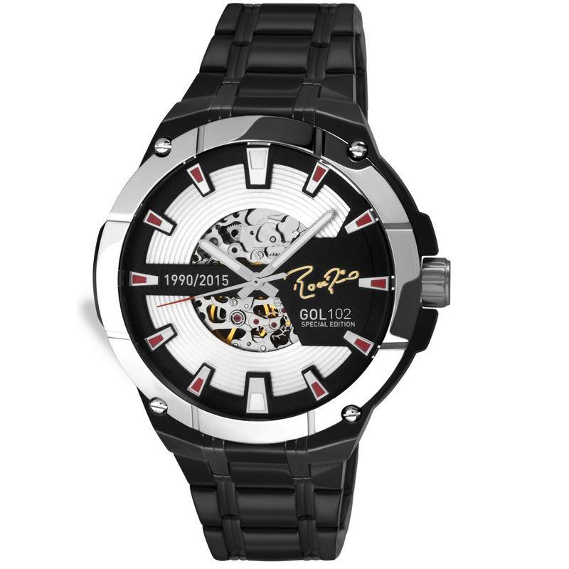 Relógio Technos Masculino Rogério Ceni Edição Especial Gol 102 Aço Inox SAO8N24AA/102