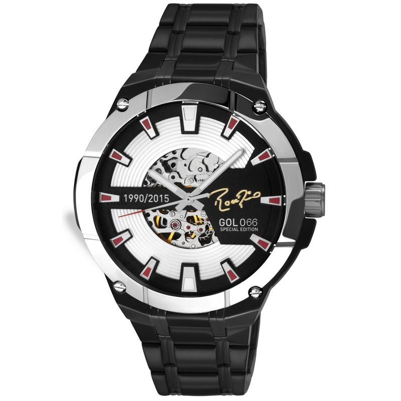 Relógio Technos Masculino Rogério Ceni Edição Especial Gol 66 Aço Inox SAO8N24AA/066