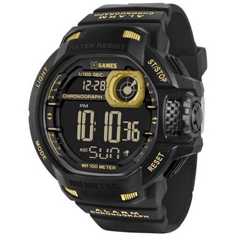 Relógio Xgames Masculino Poliuretano Digital Alarme Calendário Cronômetro XMPPD289 PXPX