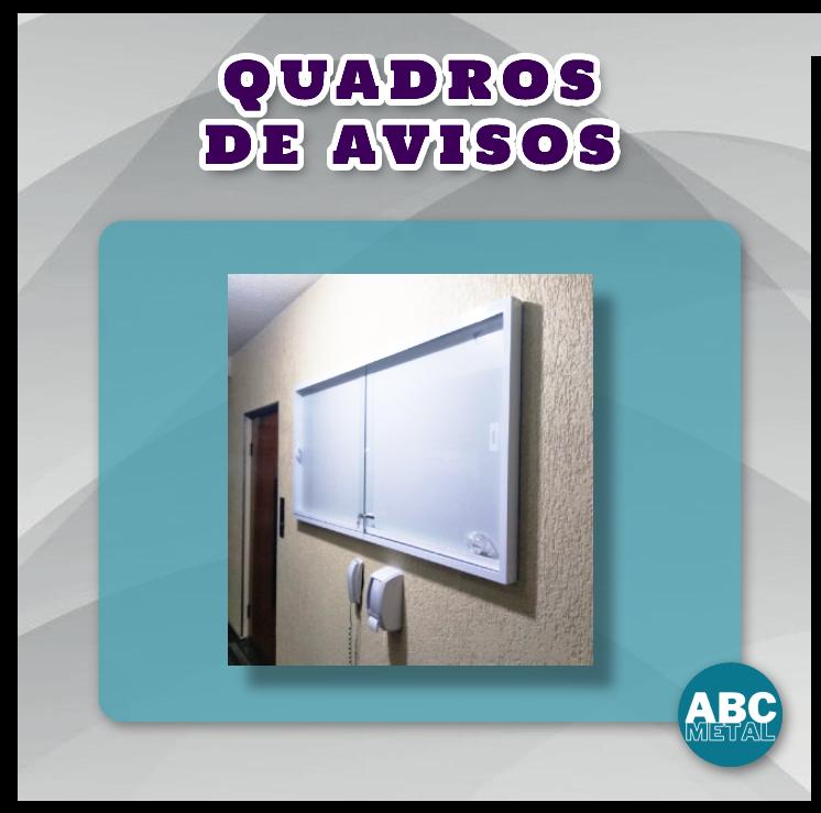 QUADRO DE AVISOS 100 x 120 CM
