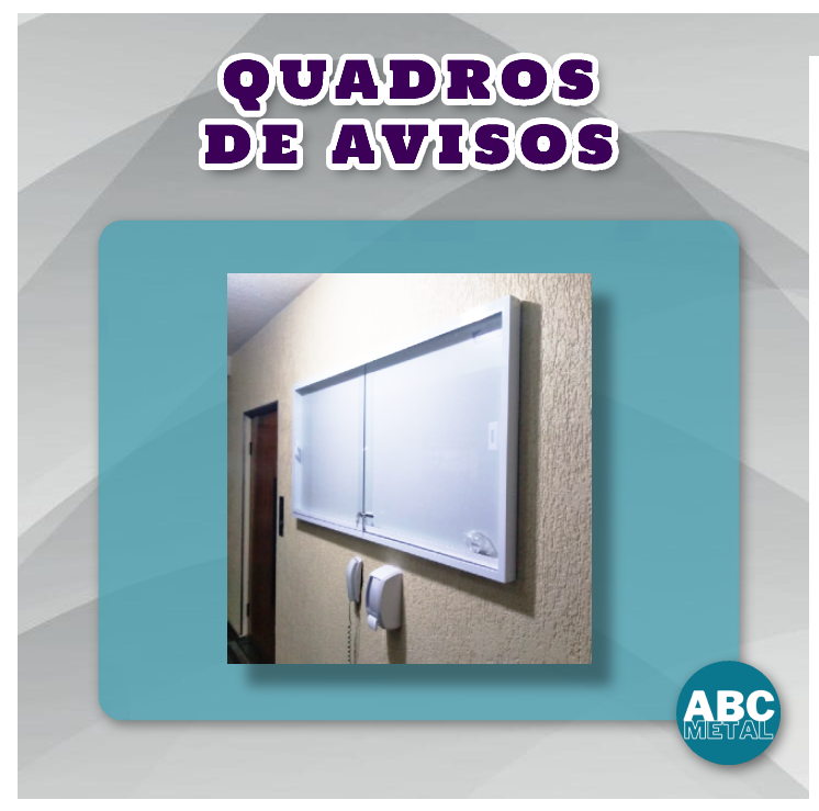 QUADRO DE AVISOS 120 x 180 CM