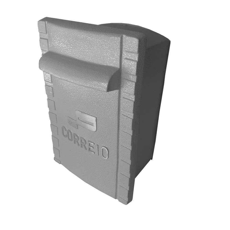 SALDO - Caixa de Correio Média 100% Alumínio Fundido
