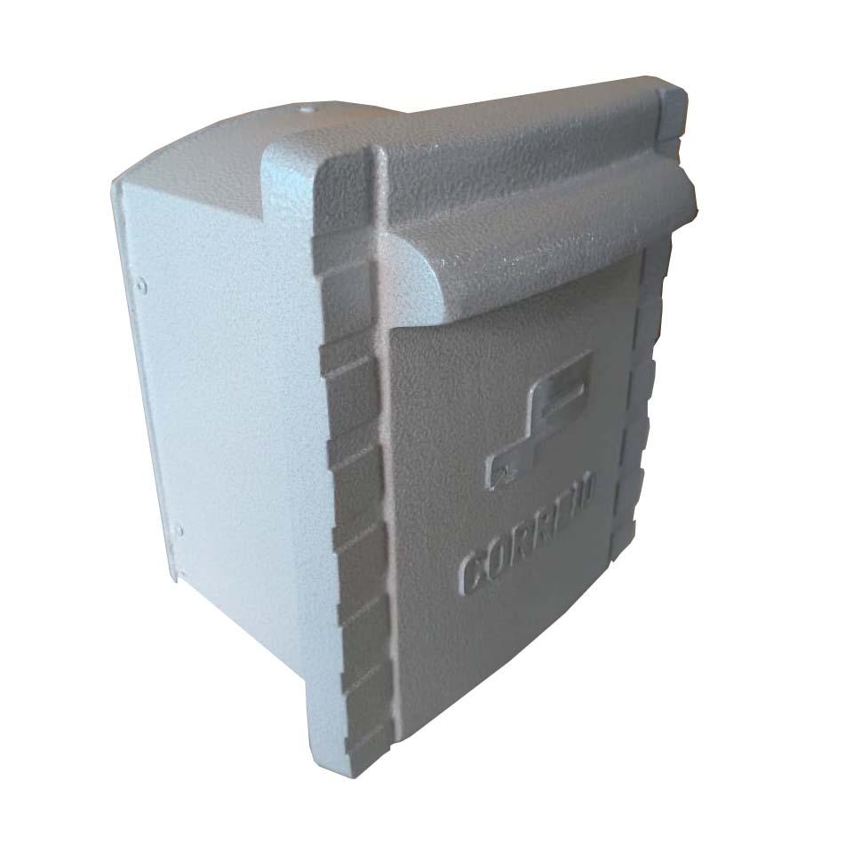 SALDO - Caixa de Correio Pequena 100% Alumínio Fundido