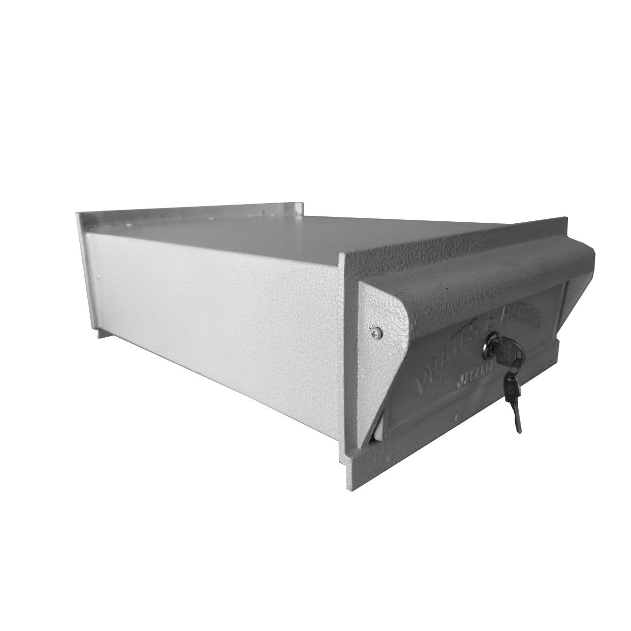SALDO - Caixa de Correio Grande 100% Alumínio Fundido - CONDOMÍNIO