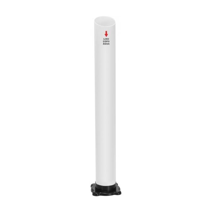 SALDO - Lixeira 01 Tubo Para Coleta De Copos Descartáveis De Água