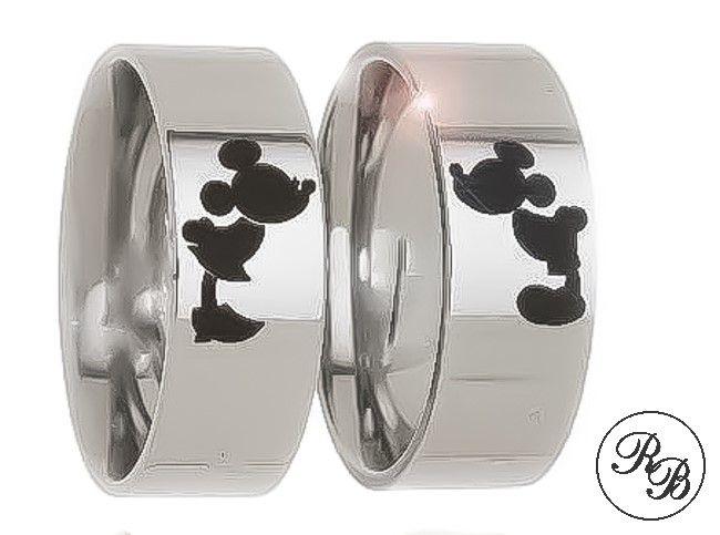 Aliança de aço inox reta | Personalizada | 6 mm